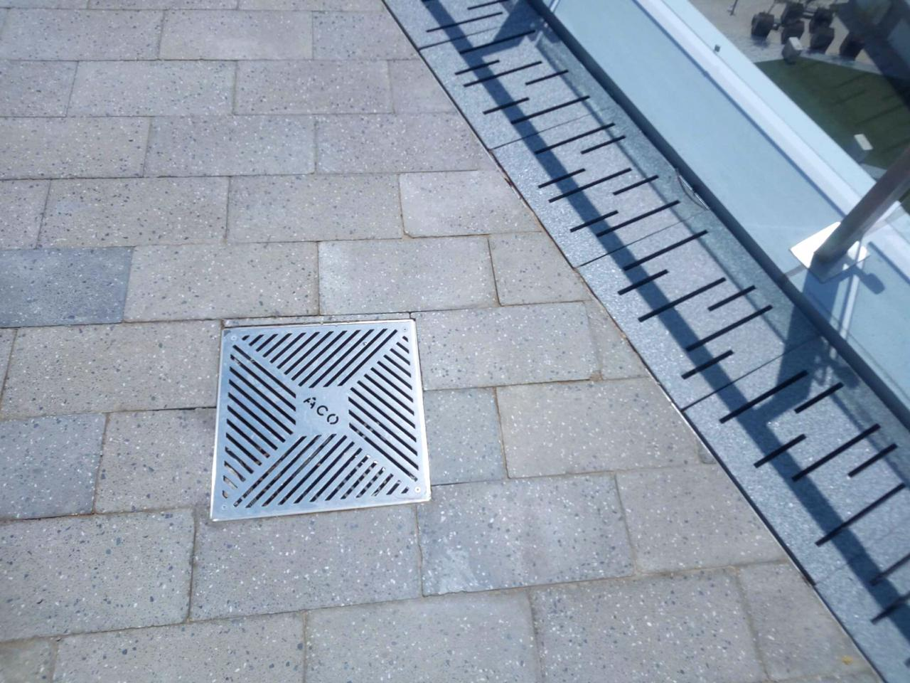 ACO Stainless Steel Frame and Grate